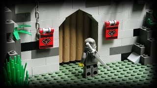 getlinkyoutube.com-Lego Ninja - The Underground Fortress