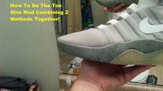 getlinkyoutube.com-Project Alvin Mcfly 2015 The Shoes PT 3 Toe Slim/Slim Toe Mod