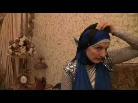 Hijab 2011- Tutorial # 4(Wedding &amp; Party Hijab)