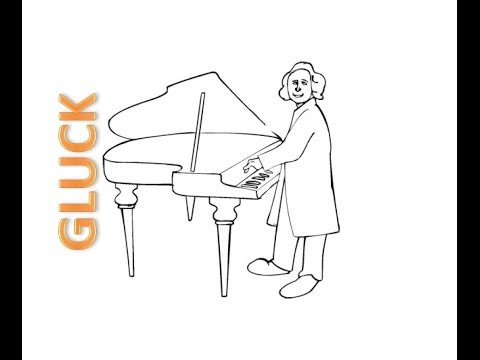 Gluck -- Sgambati: Melody from Orfeo ed Euridice for piano
