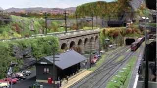 getlinkyoutube.com-NY Society of Model Railroad Engineers O Scale layout 2012