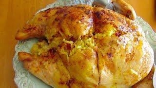 getlinkyoutube.com-Stuffed Chicken | morgh shekampor | مرغ شکم پر