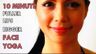 getlinkyoutube.com-HOW TO: GET FULLER LIPS BIGGER IN 10 MINUTES WITH FACE YOGA