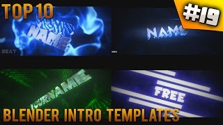 getlinkyoutube.com-TOP 10 Blender intro templates #19 (Free download + music)