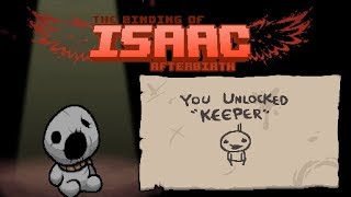 getlinkyoutube.com-Unlock Keeper | Greed Mode 999 Coins Trick ⌈The Binding of Isaac Afterbirth|DE⌋