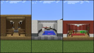 10 Minecraft Recreation Room Designs!