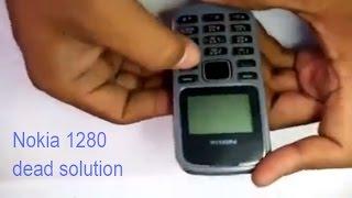 getlinkyoutube.com-Nokia 1280 Dead solution