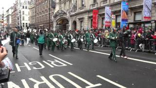 London's Kimbanguist Brass Band, New Year's Day 2012, London