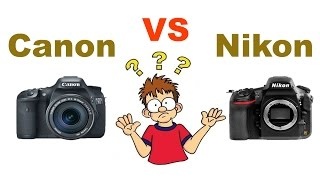 [HINDI] Canon vs Nikon | Which is better for you | Freedom Studio
