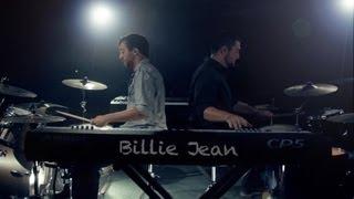 getlinkyoutube.com-Billie Jean - Michael Jackson - Michael Henry & Justin Robinett Dueling Piano / Drum Cover