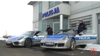 getlinkyoutube.com-Dwa Porsche trafią do policji w Poznaniu? Niestety to tylko prima aprilisowy żart