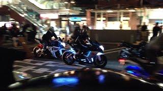 getlinkyoutube.com-大黒PA バイク達の大爆音パレード