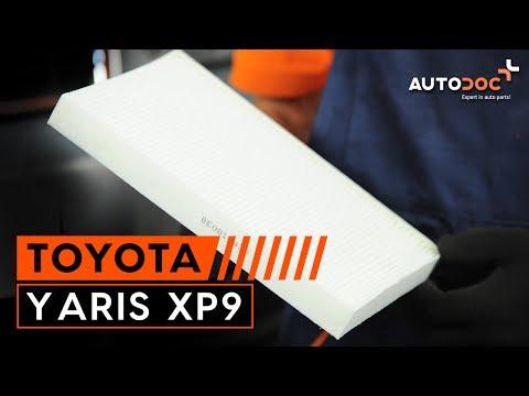 Как да сменим филтър за купе наTOYOTA YARIS XP9 ИНСТРУКЦИЯ | AUTODOC