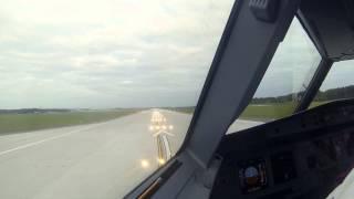 getlinkyoutube.com-[Widok z kokpitu] Pierwszy start  - nowa droga startowa Katowice Airport (Pyrzowice)