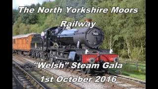 "getlinkyoutube.com-The North Yorkshire Moors Railway ""Welsh"" Steam Gala 1st October 2016"