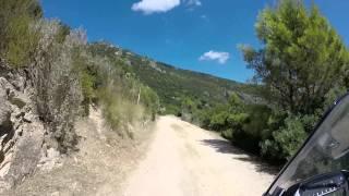 getlinkyoutube.com-Honda NC750X Offroad monte Argentario (Italy)