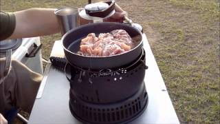 getlinkyoutube.com-ソロキャンプ 渚園キャンプ場 2013年10月31日~11月1日 前編 Solo camping Nagisa campground Part 1