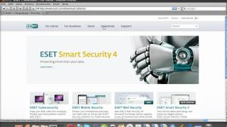 getlinkyoutube.com-How to install ESET Smart Security in Ubuntu