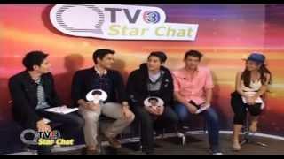 TV3 Star Chat เจมส์ จิ/บอม/เจมส์ มา/เกรท/โป๊ป