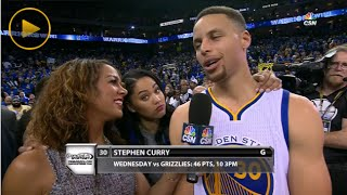 Steph Curry's Wife Ayesha Gets Drunk & Interrupts Interview with Cute Reporter!