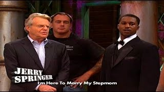 getlinkyoutube.com-Sleeping With The Bridesmaid! (The Jerry Springer Show)