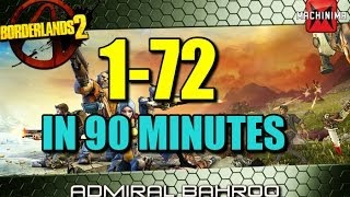 How to level from 1-72 in under 2 hours in Borderlands 2
