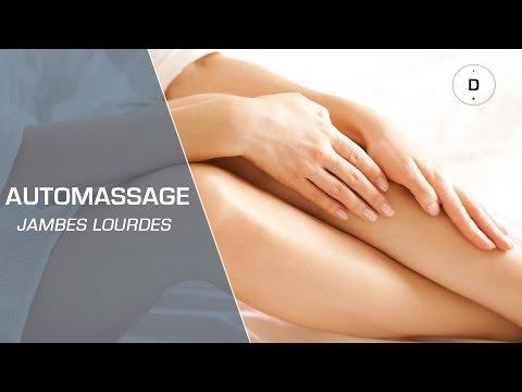 Automassage contre les jambes lourdes