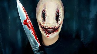 getlinkyoutube.com-Smiley - Halloween Makeup Tutorial Horror