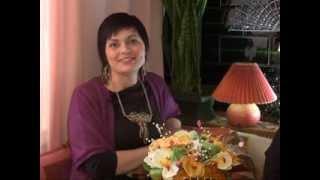getlinkyoutube.com-Мастер класс  объемные вазы из джута Людмилы Пыховой