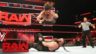 Seth Rollins vs. Braun Strowman: Raw, Jan. 9, 2017 width=