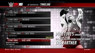 WWE 2K16 Showcase Stone Cold vs. Dude Love UNFORGIVEN: In Your House