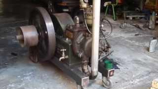 getlinkyoutube.com-Ruston & Hornsby 1HR - Start up procedure