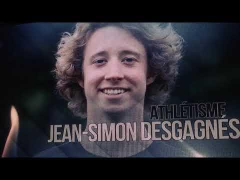 Jean-Simon Desgagnés athlète-étudiant de l'année