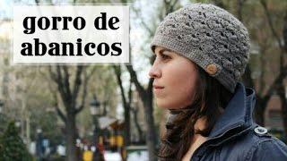 getlinkyoutube.com-Gorro de Abanicos a Crochet - Paso a Paso - Parte 1 de 2