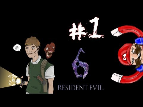 Resident Evil 6 - Prelude/Leon Campaign Walkthrough / Gameplay Part 1 - Thrown In