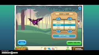 getlinkyoutube.com-How to get a pet bat in animal jam spooky party!!! 2015