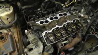 getlinkyoutube.com-Replacing Head Gaskets On A Ford Taurus 3.0L V6 OHV Engine. With Time Lapse. RWGresearch.com