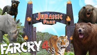getlinkyoutube.com-JURASIC PARK CON ANIMALES | FAR CRY 4