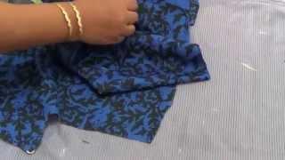 getlinkyoutube.com-How To Cut Umbrella Kameez