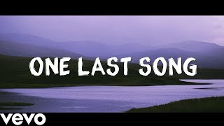 Sam Smith   One Last Song Lyrics