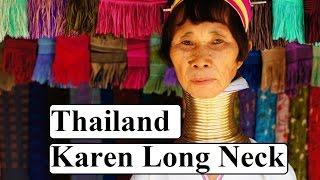 getlinkyoutube.com-Thailand-Chiang Mai-Asia (Karen Long Neck&Hmong people)  Part 1