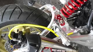 █▬█ █ ▀█▀ ขายรถมอเตอร์ไซค์มือสอง MSX Engine เสียงเครื่องยนต์รถ MSX