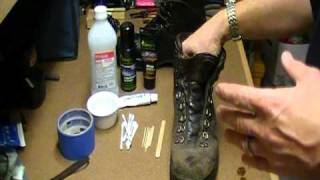 getlinkyoutube.com-How To Repair & Refurbish Leather Hiking Boots