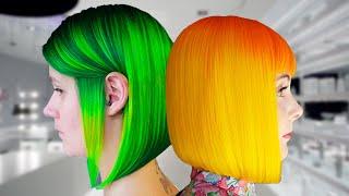 getlinkyoutube.com-Tinte Casero De Colores Neon! 😍