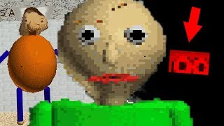THE STORY BEHIND BALDI REVEALED + EASTER EGG! | Baldi's Basics in Education and Learning