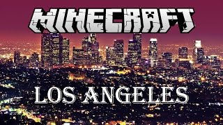 getlinkyoutube.com-Minecraft Awesome Los Angeles Map! Free Download!