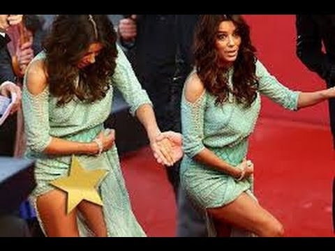 EVA LONGORIA: Wardrobe Malfunction at Cannes Film Festival (May 18, 2013) - Reaction