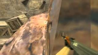 getlinkyoutube.com-de_dust2 wallbangs : shizz and nuvoid's spam spots