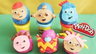 getlinkyoutube.com-Play-Doh In The Night Garden Surprise Eggs ★ Ben & Holly, Peppa Pig, Hello Kitty, Thomas★
