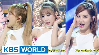 getlinkyoutube.com-Girls' Generation-TTS (소녀시대-태티서) - Adrenaline / Holler [Music Bank COMEBACK / 2014.09.26]